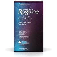 Rogaine Women's Hair Regrowth Treatment, 4 Month Supply, 2.11 oz cans, 2 ea [312547780223]