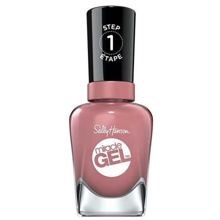 Sally Hansen Miracle Gel Nail Polish, Mauve-Olous 0.5 oz [074170443189]