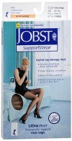 JOBST SupportWear Knee High Stockings 8-15 mmHg Ultra Sheer Beige Small 1 Pair [035664193287]