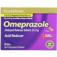 Good Sense Omeprazole Acid Reducer Delayed Release Tablets 20 mg 14 ea [301130915746]