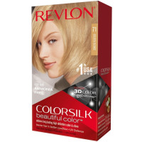 Revlon ColorSilk Hair Color, 71 Golden Blonde 1 ea [309978695714]