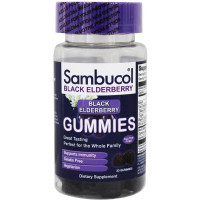 Sambucol Black Elderberry Gummies 30 ea [896116001228]