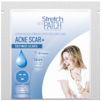 "Stretch Patch ""ACNESCAR+ for Defined Scars Lotion Infused Hot Patch For Acne Scars"" 1 ea [745557334160]"