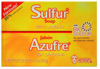 Grisi Bio Sulfur Soap with Lanolin, 4.4 oz [037836084225]