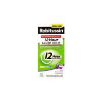 Robitussin 12 Hour Cough Relief Liquid, Grape Flavored, 5 oz  [300318755150]