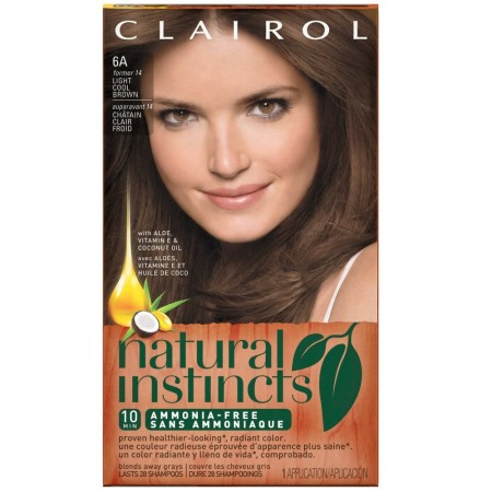 Natural Instincts Hair Color, Light Cool Brown [14] 1 ea [381519002984]