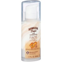 Hawaiian Tropic Silk Hydration Faces Lotion Sunscreen SPF 30, 1.70 oz [075486089177]