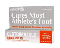 MAJOR CLOTRIMAZOLE ANTIFUNGAL 1% CREAM CLOTRIMAZOLE-1 % White 28.35 GM / 1 oz Tube - 1 ea [309047822317]