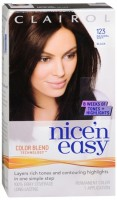 Nice 'n Easy Permanent Color - 123 Natural Soft Black 1 Each [381519012532]