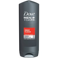 Dove Men + Care Body & Face Wash, Deep Clean 18 oz [011111062191]
