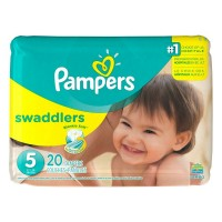 Pampers Swaddlers Diapers Size 5 20 Each [037000863465]