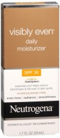 Neutrogena Visibly Even Daily Moisturizer SPF 30 1.70 oz [070501059401]