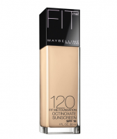 Maybelline New York Fit Me! Foundation, Classic Ivory [120], 1 oz [041554238662]