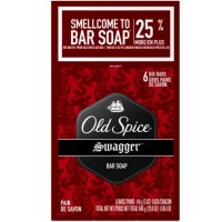 Old Spice Swagger Bar Soap, 5 oz Bars 6 ea [037000851400]