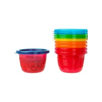 The First Years Take & Toss Snack Cups 4.5 oz, Assorted 6 ea [071463013012]