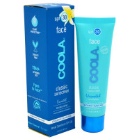 Coola Organic Suncare, Unscented Face Sunscreen 1.7 oz [853319002018]