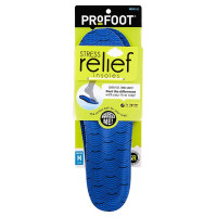 ProFoot Stress Relief Insole, Men 8-13, 1 Pair [080376224002]