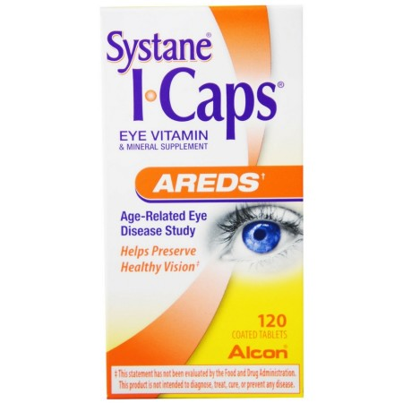 Systane ICAPS Eye Vitamin AREDS, 120 Coated Tablets [300658040107]