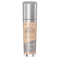 Rimmel Lasting Finish Breathable Foundation, Fair Ivory 1 oz [3614224219857]