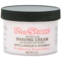 Pro Shave Brushless Shaving Cream & Beard Softener with Lanolin & Vitamin E 8 oz [651704745508]
