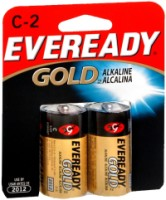 Eveready Gold Alkaline Batteries C 2 ea [039800028884]