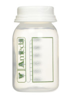 Ameda Breast Milk Storage Bottles, 4 Ounce bottles, 4 ea [032884164066]