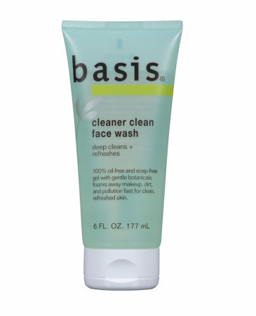 Basis Face Wash Cleaner Clean 6 oz [072140857400]