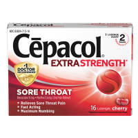 Cepacol Maximum Strength Throat Drop Lozenges, Cherry, 16 ct [363824710167]