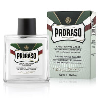 Proraso After Shave Balm, Refreshing & Toning 3.4 oz [8004395001101]