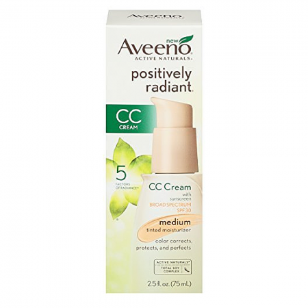 AVEENO Active Naturals Positively Radiant Tinted Moisturizer Medium 2.50 oz [381371018475]