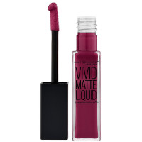 Maybelline Color Sensational Vivid Matte Liquid Lipstick, Smoky Rose 0.26 oz [041554493580]