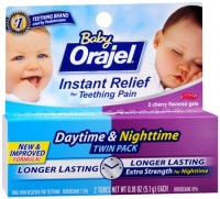 Baby Orajel Daytime & Nighttime Fast Teething Pain Relief 0.36 oz [310310319557]