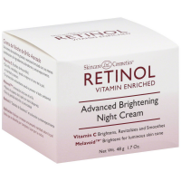 Skincare LdeL Cosmetics Retinol Vitamin Enriched Advanced Brightening Night Cream 1.70 oz [088634464184]