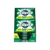 Eclipse  Sugar Free Gum Spearmint 8 packs (18 ct per pack)  [022000119650]