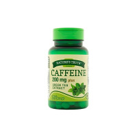 Nature's Truth Caffeine Tablets Plus Green Tea Extract Dietary Supplement, 120 ea [840093100597]
