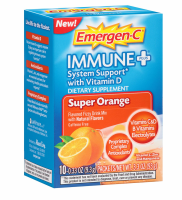 Emergen-C Immune+ System Support, Super Orange 10 ea [885898000413]
