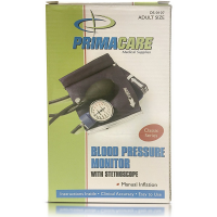 Primarcare Classic Series Adult Size Blood Pressure Kit with Stethoscope 1 ea [189365000976]