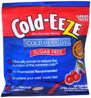 COLD-EEZE Lozenges Natural Wild Cherry Flavor Sugar Free 18 Each [091108103021]