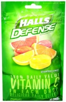 Halls Defense Vitamin C Drops Assorted Citrus 30 Each [312546627543]
