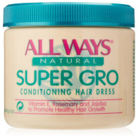 All  Ways Natural  Super Gro Conditioning Hairdress 5.5 oz [048398000806]