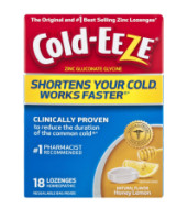 COLD-EEZE Lozenges All Natural Honey Lemon 18 ea [091108301250]