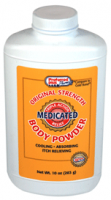 Body Powder Medicated Original Strength 10 oz [033116827001]