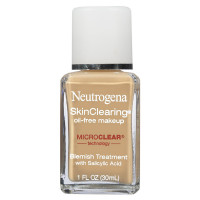 Neutrogena Skinclearing Makeup, 60 Natural Beige 1 oz [086800003939]