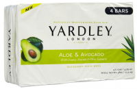 Yardley London Moisturizing Bar Fresh Aloe With Cucumber Essence 4 ea [041840873713]