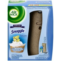 Air Wick Freshmatic Ultra - Starter Kit Snuggle Fresh Linen 6.17 oz [062338935546]