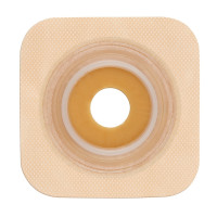 "Colostomy Barrier SurFit Natura PreCut Standard Wear Stomahesive Tan Tape 134"" Flange SurFit Natura Hydrocolloid 118"" Stoma [768455101856]"