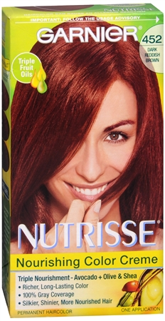 Nutrisse Haircolor - 452 Chocolate Cherry (Dark Reddish Brown) 1 Each [603084245222]