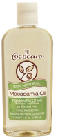 Cococare 100% Natural Macadamia Oil, 4 oz [075707094751]