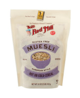 Bob's Red Mill Gluten Free Muesli 16 oz [039978003669]