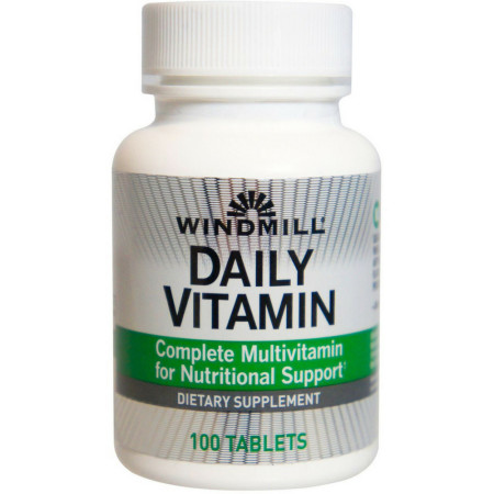 Windmill Daily Vitamin 100 Tablets [035046000684]